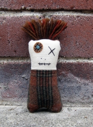Monster Mini Brown Plaid BRICK ps copy