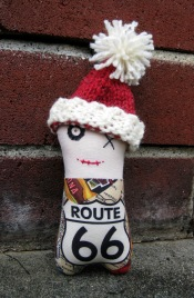 Monster Route 66 Santa ps